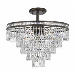 Mercer - Seven Light Semi-Flush Mount