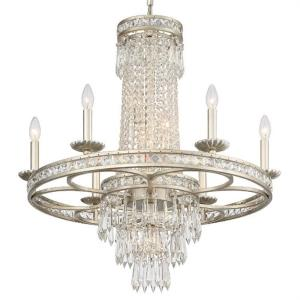 Mercer - Six Light Chandelier in Classic Style - 28 Inches Wide by 33 Inches High