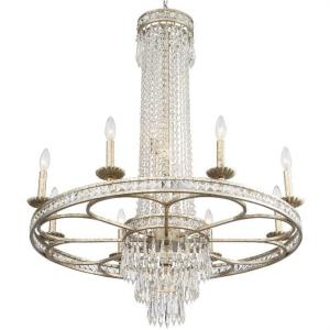 Mercer - Eight Light Chandelier in Classic Style - 35.5 Inches Wide by 40.75 Inches High