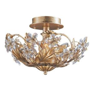 Abbie - Three Light Semi-Flush Mount