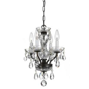 Traditional Crystal - Four Light Chandelier