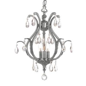 Dawson - Three Light Chandelier in classic, elegant, and casual Style - 16 Inches Wide by 19.5 Inches High