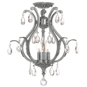 Dawson - Six Light Semi-Flush Mount