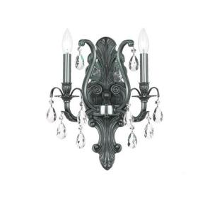 Dawson - Two Light Wall Sconce in classic, elegant, and casual Style - 12.5 Inches Wide by 16 Inches High