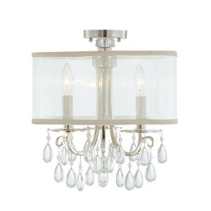 Hampton - Three Light Semi-Flush Mount