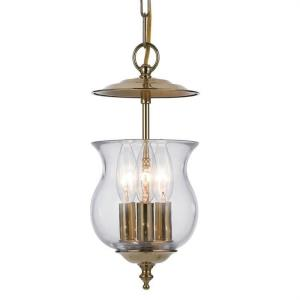 Ascott - Three Light Lanterns in Traditional and Contemporary Style - 6.5 Inches Wide by 11.5 Inches High