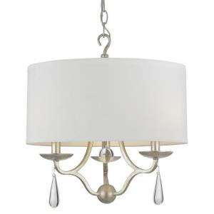 Manning - Three Light Chandelier in classic, elegant, and casual Style - 16 Inches Wide by 17.5 Inches High