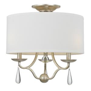 Manning - Three Light Flush Mount in classic, elegant, and casual Style - 16 Inches Wide by 16 Inches High