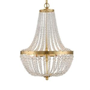 Rylee - 3 Light Chandelier in classic, elegant, and casual Style - 14 Inches Wide by 19 Inches High