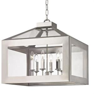 Hurley - Six Light Chandelier in Minimalist Style - 21 Inches Wide by 21 Inches High