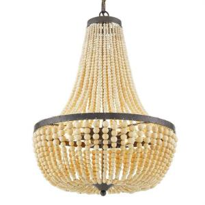 Rylee - Six Light Chandelier in classic, elegant, and casual Style - 18.75 Inches Wide by 24.25 Inches High