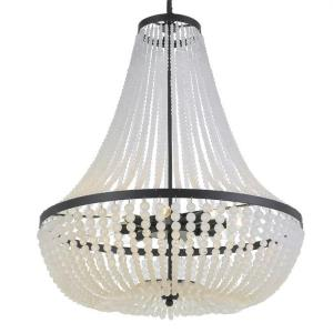 Rylee - Eight Light Chandelier in classic, elegant, and casual Style - 24.75 Inches Wide by 31.25 Inches High