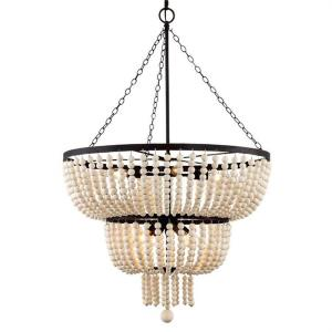 Rylee - 8 Light Chandelier in Classic Style - 24.8 Inches Wide by 37.4 Inches High