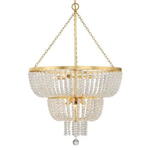Rylee - 8 Light Chandelier in classic, elegant, and casual Style - 24.8 Inches Wide by 37.4 Inches High