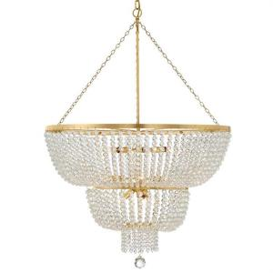 Rylee - 12 Light Chandelier in classic, elegant, and casual  Style - 32 Inches Wide by 46 Inches High