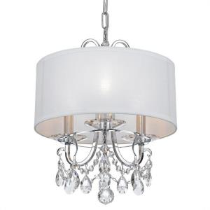 Othello - 3 Light Chandelier in Classic Style - 15 Inches Wide by 15 Inches High