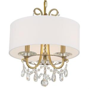 Othello - 3 Light Chandelier in classic, elegant, and casual  Style - 15 Inches Wide by 15 Inches High