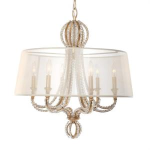 Garland - Six Light Chandelier