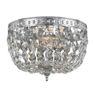 Richmond - 2 Light Ceiling Mount in traditional and contemporary Style - 8 Inches Wide by 5.5 Inches High