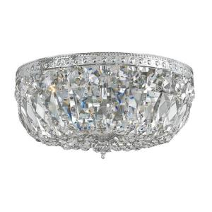 Richmond - 3 Light Ceiling Mount in traditional and contemporary Style - 16 Inches Wide by 9 Inches High