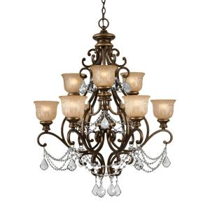 Norwalk - Nine Light Chandelier