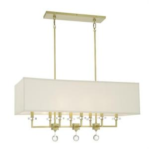 Paxton - Eight Light Linear Chandelier
