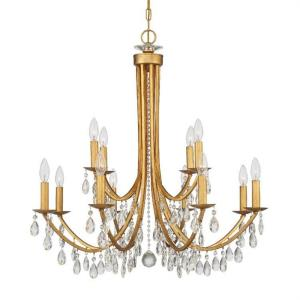 Bridgehampton - 12 Light Chandelier in Timeless Style - 32 Inches Wide by 30.75 Inches High