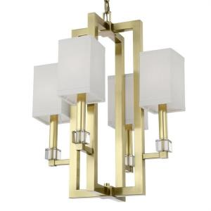 Dixon - Four Light Chandelier in classic, elegant, and casual Style - 18.5 Inches Wide by 24.25 Inches High