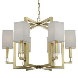 Dixon - Six Light Chandelier in classic, elegant, and casual Style - 28.5 Inches Wide by 20 Inches High