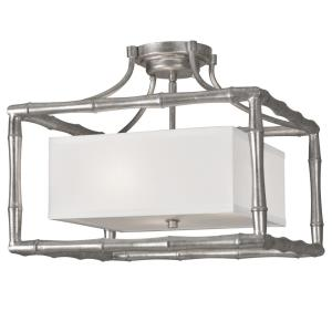 Masefield - Three Light Semi-Flush Mount