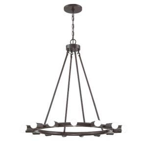 Dakota - Fifteen Light Chandelier in natural, organic, and raw Style - 28.25 Inches Wide by 30 Inches High