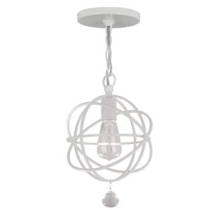 Solaris - One Light Pendant Light in Traditional and Contemporary Style - 9 Inches Wide by 14 Inches High