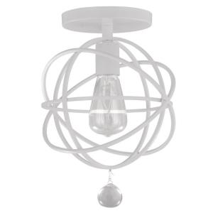 Solaris - One Light Flush Mount in Traditional and Contemporary Style - 9 Inches Wide by 13 Inches High