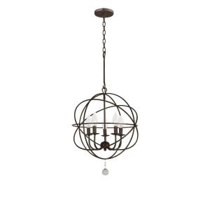 Solaris - Five Light Mini Chandelier