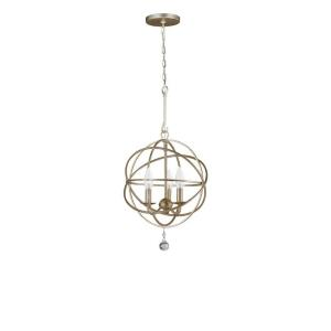 Solaris - Three Light Mini Chandelier