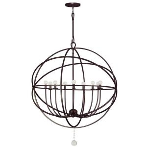 Solaris - Nine Light Chandelier in traditional and contemporary Style - 40 Inches Wide by 50 Inches High