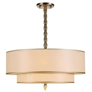 Luxo - Five Light Chandelier in traditional and contemporary Style - 26 Inches Wide by 22 Inches High
