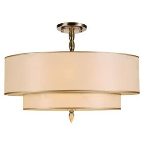 Luxo - Five Light Semi-Flush Mount