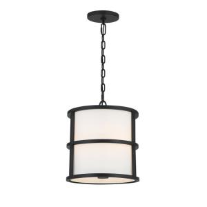 Hulton - 3 Light Pendant in Classic Style - 13 Inches Wide by 13.75 Inches High