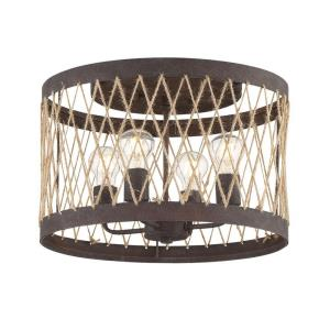 Anders - 4 Light Flush Mount in Traditional and Contemporary Style - 16 Inches Wide by 12 Inches High
