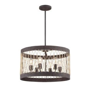 Anders - 6 Light Chandelier in Traditional and Contemporary Style - 23 Inches Wide by 13 Inches High