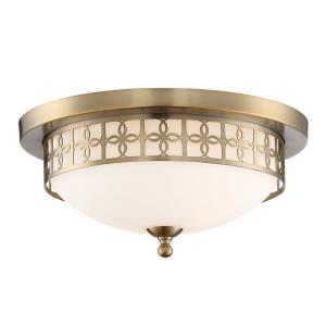 Anniversary - Two Light Flush Mount in Traditional and Contemporary Style - 13.5 Inches Wide by 6.5 Inches High