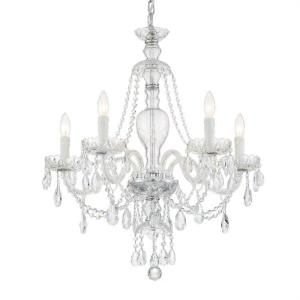 Candace - 28 Inch 5 Light Chandelier