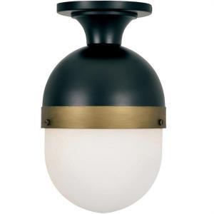 Capsule - One Light Outdoor Flush Mount