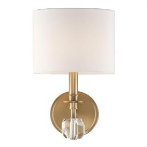 Chimes - One Light Wall Mount in classic, elegant, and casual Style - 8 Inches Wide by 13 Inches High
