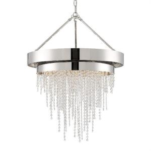 Clarksen - 36.25 Inch 6 Light Chandelier
