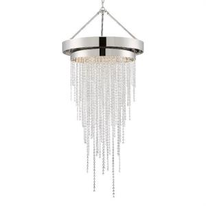 Clarksen - 60.25 Inch 6 Light Chandelier