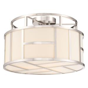 Danielson - Three Light Flush Mount