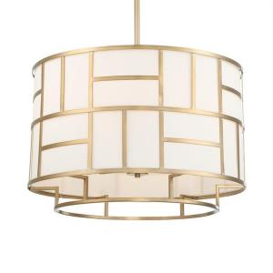 Danielson - Six Light Chandelier in Minimalist Style - 24.75 Inches Wide by 17 Inches High