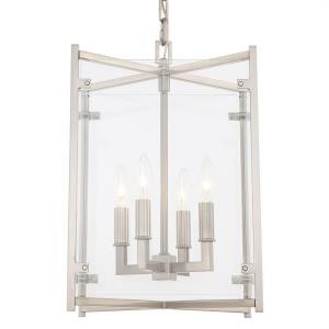 Danbury - 18.5 Inch Four Light Chandelier